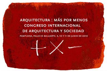PRIMER CONGRESO INTERNACIONAL ARQUITECTURA Y SOCIEDAD