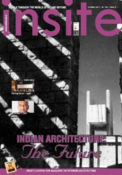 INSITE INDIA MAGAZINE COVERT