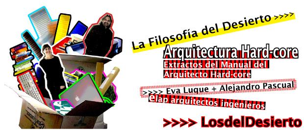 EcosistemaUrbano.org #followarch Eva Luque + Alejandro Pascual | LosdelDesierto